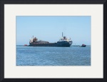 Algoway And Two Tugboats by Rich Kaminsky