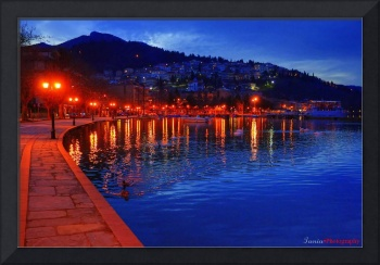 Nighttime in Kastoria...