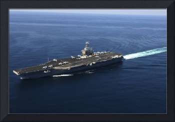 The aircraft carrier USS John C. Stennis