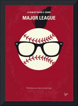 No541 My Major League minimal movie poster