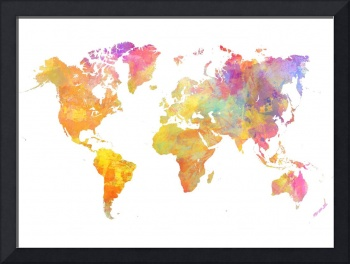 World of the Map watercolor