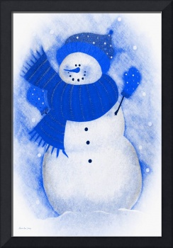 Decorative Snowman A810716
