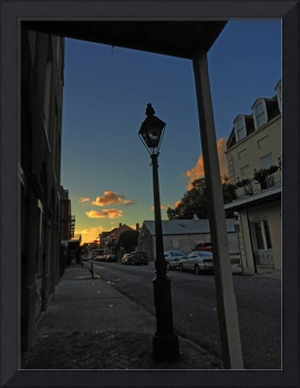 Sunset on Barracks Street, French Quarter