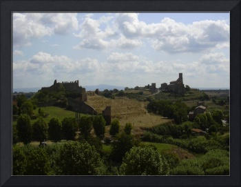 Tuscia - Italy - old country