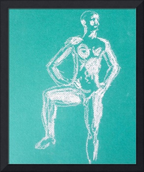 Figure in Green