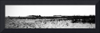 Panoramic of Chincoteague Beach