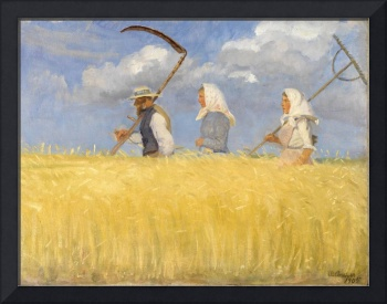 Harvesters by Anna Ancher, 1905.