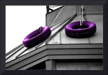 Tire Roof - Purple