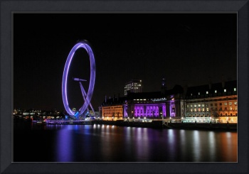 London Eye spinning