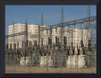 Ft. Randall Dam 230-kV & 115-kV  Switchyards