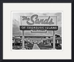 Sands Motel, Treasure Island, Florida - BW by David Caldevilla