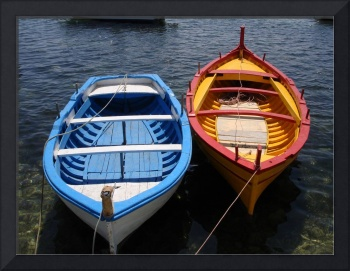 Sicilian Fishing Boats