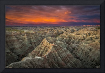 Sunrise over the Badlands by Cody York Photography