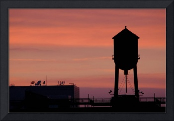 Sunset Watertower