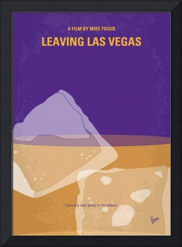 No180 My Leaving Las Vegas minimal movie poster