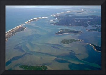 Pleasant Bay Aerial Photo Looking Toward Chatham