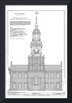 Independence Hall Blueprint Schematics