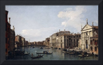 The Grand Canal, Venice, looking South-East from S