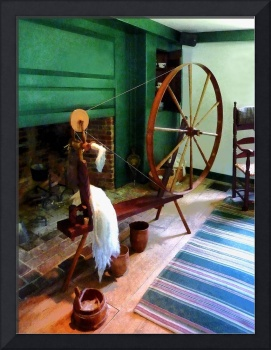 Large Spinning Wheel