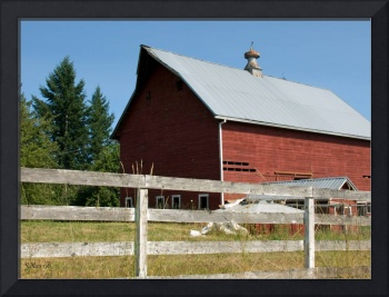 Old Red Barn 2