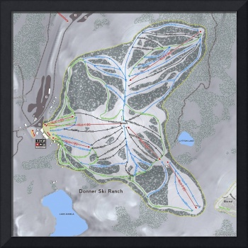 Donner Ski Ranch Resort Trail Map