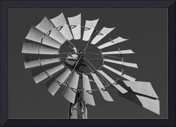 Windmill: Black and White