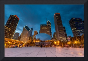 Summer Evening at Cloud Gate