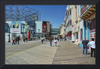 On the Boardwalk In Atlantic City