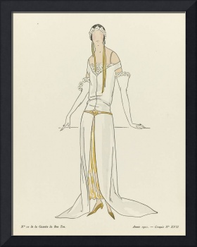 Fashion Poster 1900-1920s Series - 37
