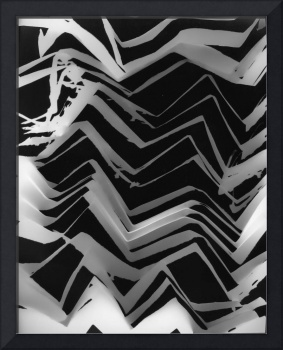 ZigZag paper on paper