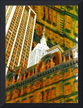 New York City Up Is Down Down Is Up Gold