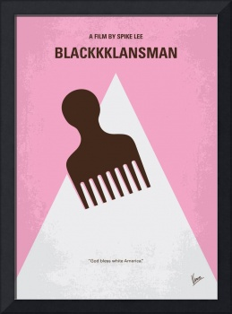 No1036 My BlacKkKlansman minimal movie poster