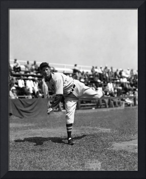 Lefty Grove working out before game