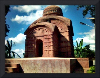Ancient execution cell Bhubaneswari temple