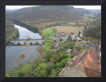 View from Castelnaud France