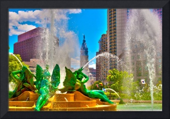 Swann Memorial Fountain - HDR