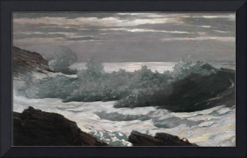 Early Morning After a Storm at Sea by Homer