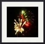 Fireworks #20  by Jacque Alameddine
