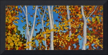 birch tree series 21x46