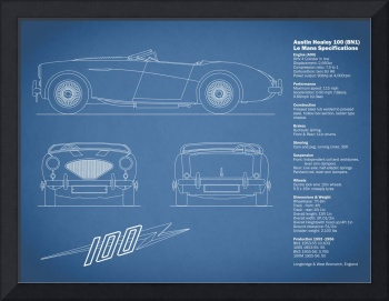 Austin-Healey 100 Blueprint