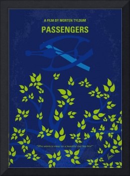No803 My Passengers minimal movie poster