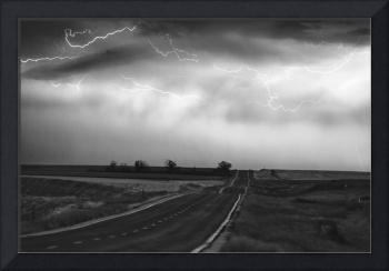 Storm Chase IN Black and White