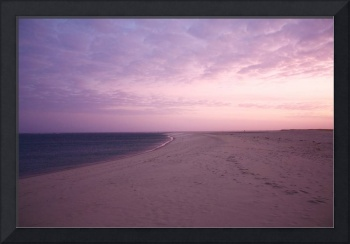 Chatham Lighthouse Beach at Sunset (Cape Cod)