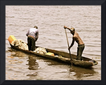 Fishers on the Congo River