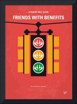 No629 My Friends with benefits minimal movie poste