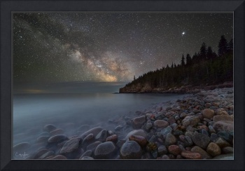 Milky Way over the Coast of Maine by Cody York_15A