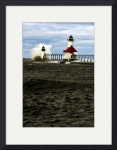 Lake Michigan Lighthouse by Brandon Watts