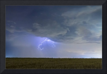 Lightning Clawing Out Of The Sky