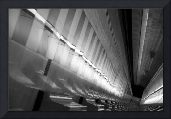 Metro Tunnel Reflections