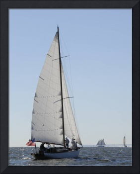Schooner Witchcraft sailing Chesapeake Bay